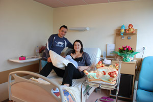 Les chambres - Maternite Etoile